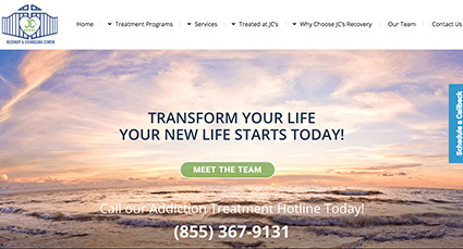 JC Recovery Website